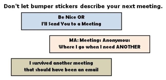 bumper meeting