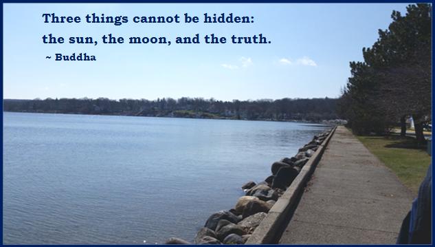 sun moon truth buddha