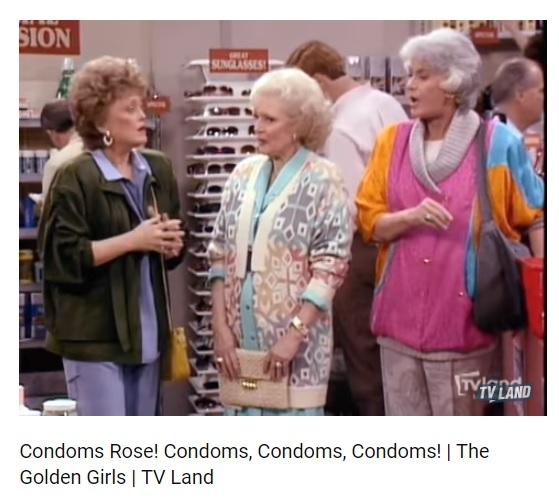 Golden Girls Condoms photo